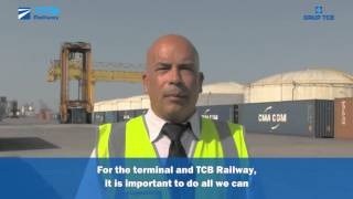 tcb railway increases more than 15 its container traffic in barcelona