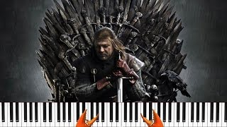 Игра престолов Game of Thrones Кавер Cover Пианино + Обучение