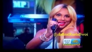 Tamar Braxton on GMA Performing Medley from Love & War Album 09/3/13