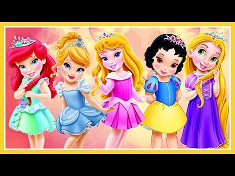 Baby Disney Princess Movie Game ! Disney Princess Baby Video Games for Girls