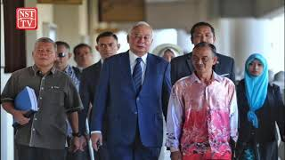 Najib gets a lesson on court proceedings