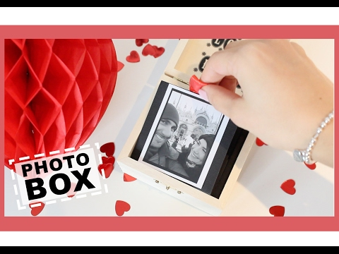 Idea Regalo DIY ♥ Pop up Photo Box - S.Valentino