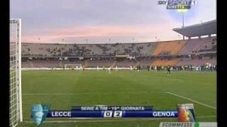 Lecce-GENOA 0-2  (Jankovic-Sculli)- High Quality- 2009 NOIGENOANI.NET -  Alta Qualità -