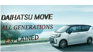 DAIHATSU MOVE FULL REVIEW AND HISTORY | MY OPINION | AN INTERESTING STORY