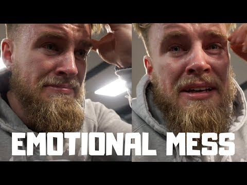ROAD TO THE 2019 BODYBUILDING STAGE EP9 - Emotional Mess