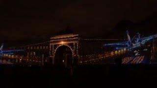 Новогоднее 3D-шоу световых технологий на Дворцовой