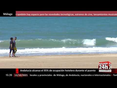 🔴Noticia - Andalucía alcanza el 95% de ocupación hotelera en el puente del Pilar