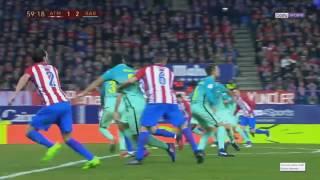 Athletico Madrid - Barcelone Demi - Finale Coupe du Roi