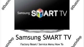 Video Samsung Smart TV Service Menu / Factory Reset How To LED 8 Series download MP3, 3GP, MP4, WEBM, AVI, FLV Agustus 2018