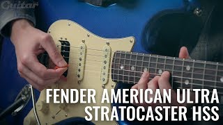 Is Fender's American Ultra Stratocaster HSS the perfect blend of vintage and modern? | Guitar.com