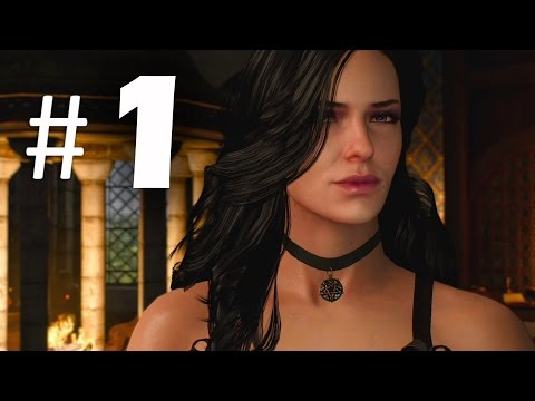 The Witcher 3 Wild Hunt Part 1 - Yennefer - Gameplay Walkthrough PS4