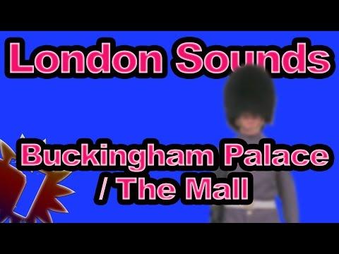 Buckingham Palace / The Mall - London Street Sounds - 60 min - Sleep Noise
