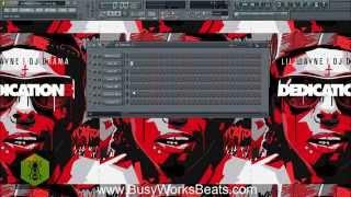 Lil Wayne Carter 5 Tutorial in FL Studio | Part 1 Drums (Beginner)