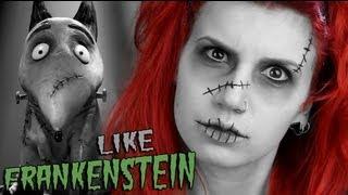 One of Louna Maroun's most viewed videos: Tim Burton's FRANKENWEENIE Halloween Special - Like Frankenstein