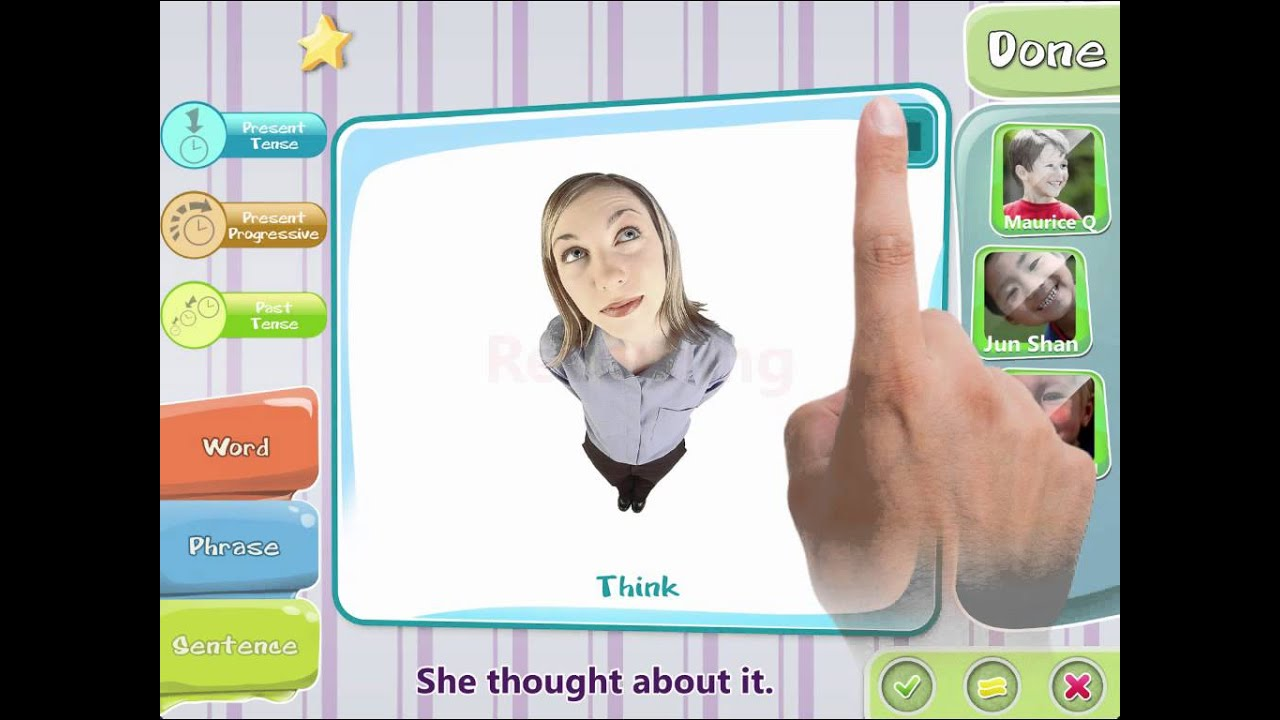 iPractice Verbs: Learning Verbs on the iPad (video tutorial)