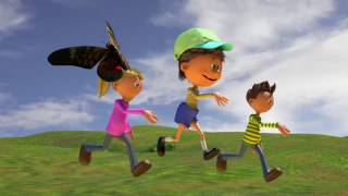 Лето - времена года - развивающий мультфильм для детей
