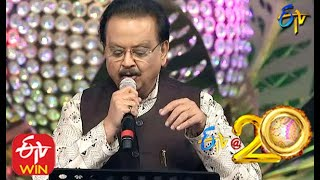 SP Balasubramaniam Performs Ee Manase Song in ETV 20 Years Celebrations 2nd August 2015