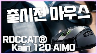 출시 예정 마우스 받았습니다 ROCCAT Kain 카인 리뷰 (오울아이, 지무선, G703, MX518과 비교) | 딩셉션