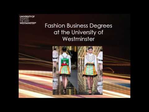Undergraduate Fashion Business Programmes Webinar