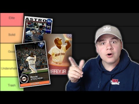 THE BEST CARDS IN DIAMOND DYNASTY HISTORY?! Ranking the Best MLB The Show Cards!