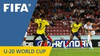 Korea Republic, Colombia play out thriller