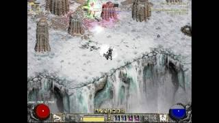 Diablo2 - Hell ancients vs naked Necromancer