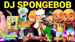 🎤 Dj Spongebob | Versi Spongebob Squarepants, Boboiboy, Upin & Ipin