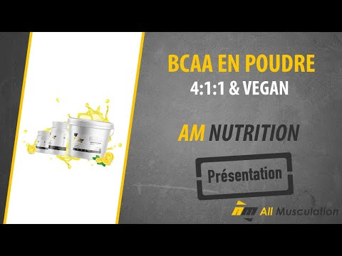 Bcaa 411 Vegan En Poudre