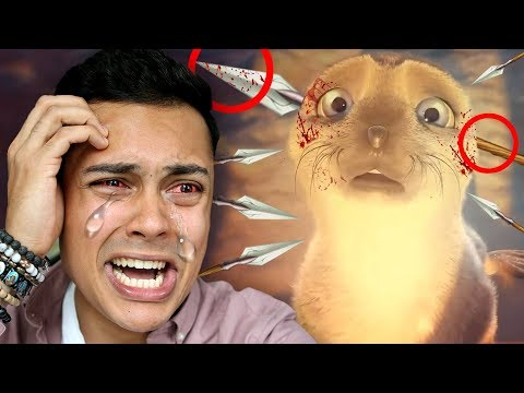 REACTING TO SADDEST ANIMATIONS ON YOUTUBE #2 (I ACTUALLY CRIED)