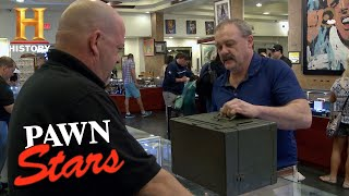Pawn Stars: A WWII Morse Code Machine Is Worth Less Than Seller Thought (S10) | History