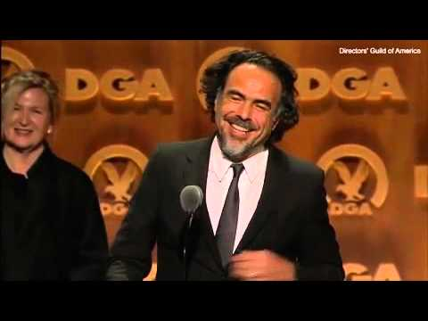 'I love you, Leo'  Alejandro Inarritu tears up at DGA win 2016