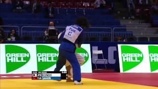 Ami KONDO (JPN) - Ebru Şahin (TUR) 2014 Dünya Judo Şampiyonası Chelyabinsk
