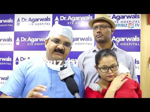 Dr. Agarwal's Eye Hospital Congenital Glaucoma Surgery | Maramganty Vamshidhar | hybiz