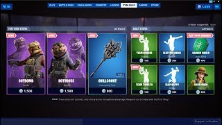 'NEW'Gutbomb ' Hothouse Skins (Leftovers Set)! Fortnite Item Shop 16 août 2019