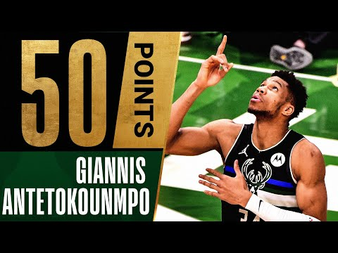 Giannis LEGENDARY 50 PTS & 5 BLOCKS in EPIC Close Out Performance 🤯