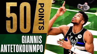 Giannis LEGENDARY 50 PTS \u0026 5 BLOCKS in MASTERFUL Close Out Performance 🤯
