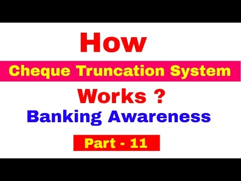 cheque truncation Cheque truncation system (cts) is a cheque clearing system undertaken by the reserve bank of india (rbi) for faster clearing of cheques as the name suggests, truncation is the process of stopping the flow of the physical cheque in its way of clearing in its place an electronic image of the cheque is transmitted with key.