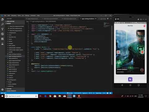 Routing Tutorial NativeScript+Angular thumbnail