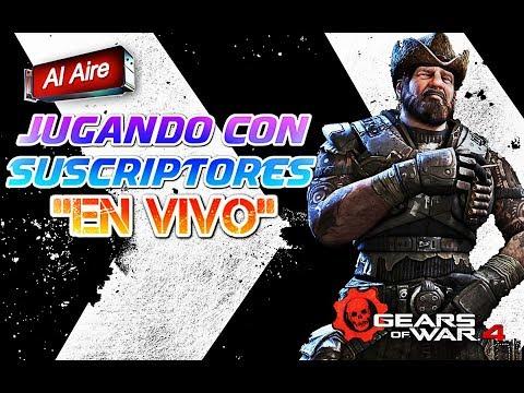 """""""EN VIVO"""" JUGANDO CON SUSCRIPTORES FT. DUNKEL ABEND / GEARS OF WAR 4"""
