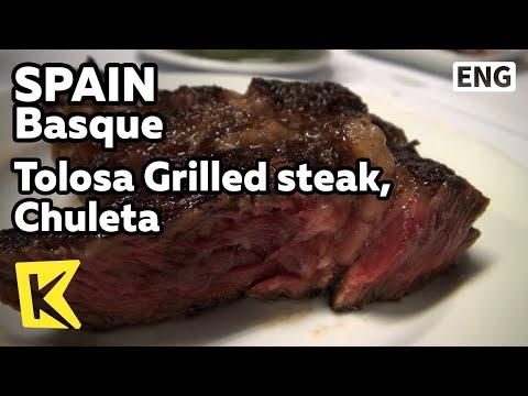 【K】Spain Travel-Basque[스페인 여행-바스크]톨로사 전통 소갈비 숯불구이 '출레타'/Tolosa Grilled steak, Chuleta