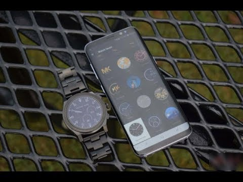 c57bae22ca57 Michael Kors Access Grayson Smartwatch Review - YouTube