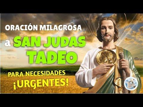 ORACIÓN MILAGROSA A SAN JUDAS TADEO PARA NECESIDADES URGENTES Y DESESPERADAS