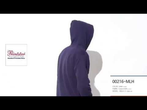 [세븐퍼센트] 남여공용 프리미엄 무지 3단쭈리 후드