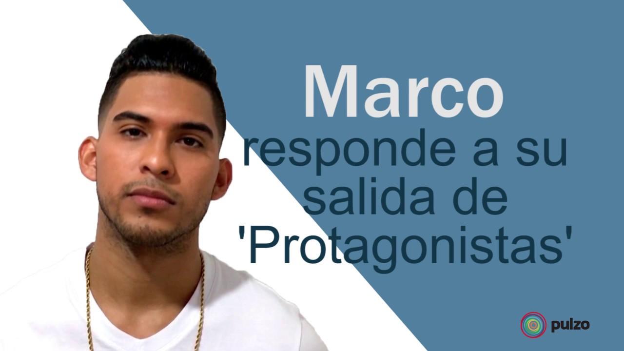Marco responde a su salida de \'Protagonistas\' - YouTube