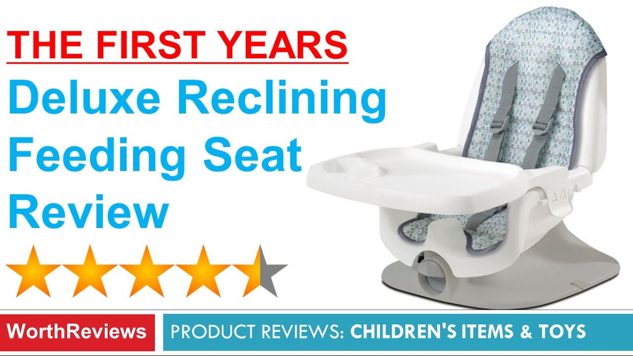 Deluxe Reclining Feeding Seat Review - Booster Seat (The First Years)  sc 1 st  YouTube & Deluxe Reclining Feeding Seat Review - Booster Seat (The First ... islam-shia.org
