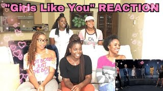 maroon 5 ft cardi b girls like you official video reaction