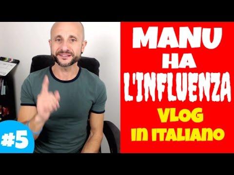 Practice Intermediate and Advanced Italian Comprehension and Conversation MANU HA L'INFLUENZA [IT]