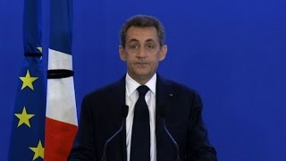 """Attentats à Paris: """"La guerre doit être totale"""", selon Sarkozy"""