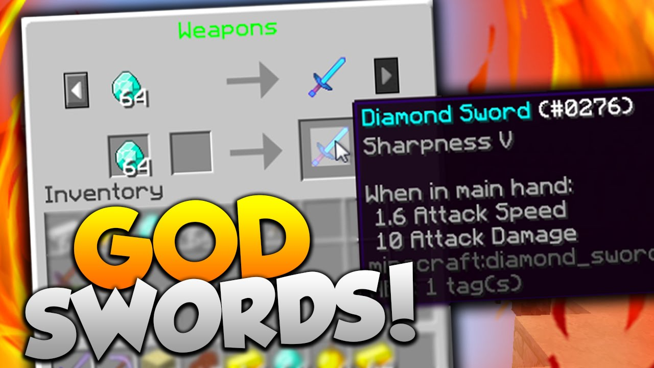 GOD SWORD VS GOD SWORD! | Minecraft MONEY WARS with PrestonPlayz & Landon
