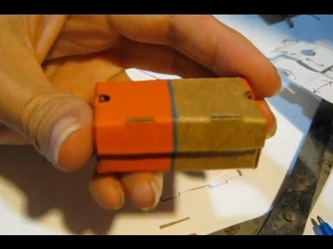 Tutorial Miniature Nike Shoebox Made From Cardboard